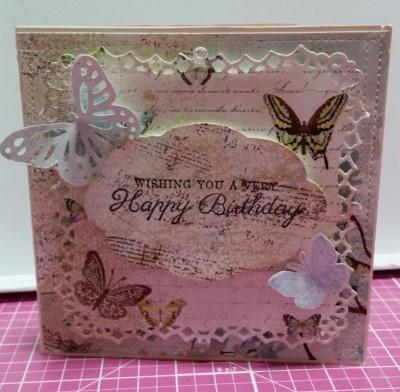 NO.1 팔랑팔랑 나비~ 생일카드