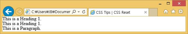 CSS 초기화 (CSS Reset)