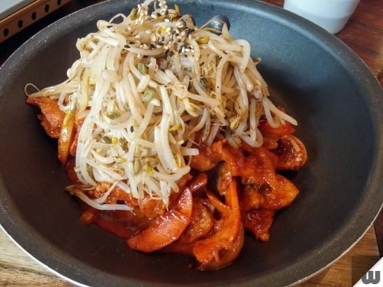 [부산 서면] 한식고기밥집, 보기좋은 밥상