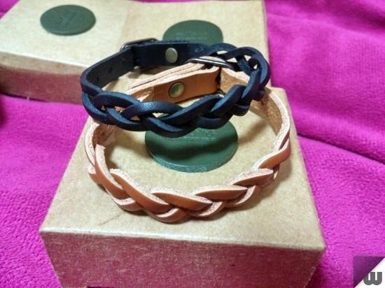 마일로브 가죽팔찌 [milove leather bracelet]
