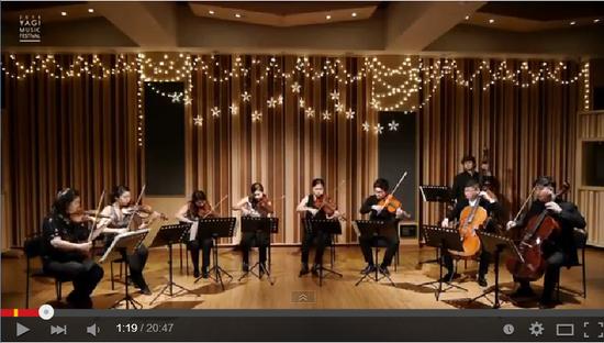 솔로이스츠 빈 (2014.12.20/야기스튜디오) - YOUTUBE에서