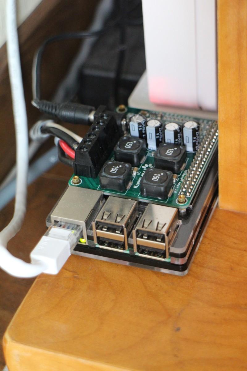 라즈베리 파이에 온보드 앰프(hifiberry Amp+)를 장착하다