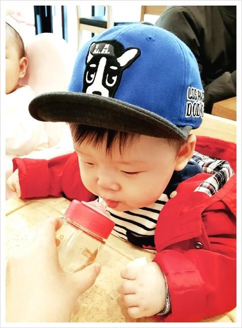 [8개월 아기] 8개월 아기 김시호 벌써 8갤 ㅋ