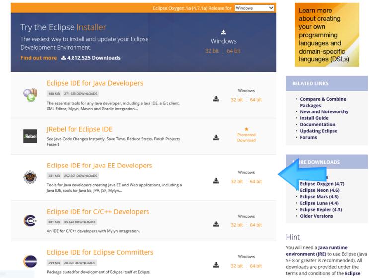 JAVA__ #03  Java 개발환경을 구축해보자!(02) [Eclipse설치] : 네이버
