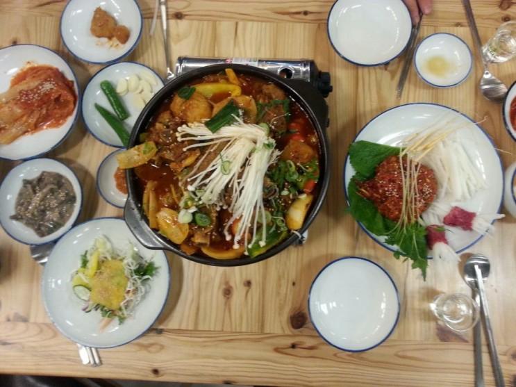 진주시내맛집 대미식당