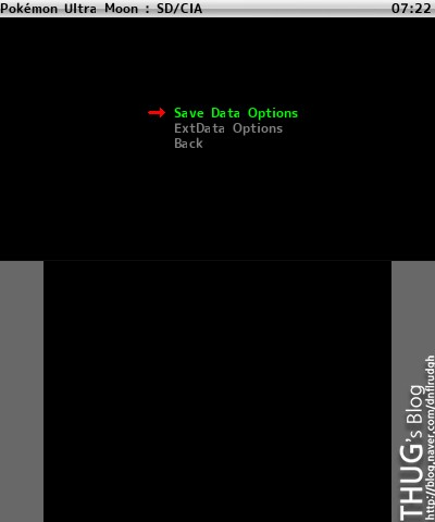 JKSM으로 세이브 파일 추출&주입 guide : 네이버 블로그