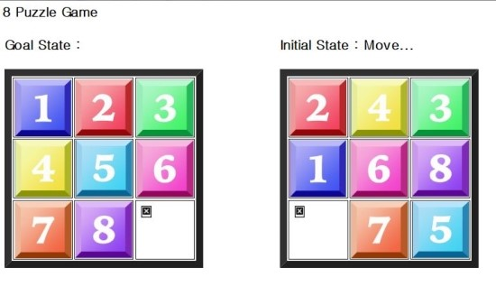 about 8 Puzzle... 8퍼즐이란?