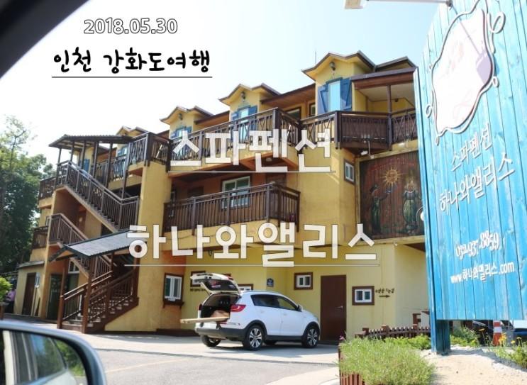 인천강화도여행 동막해수욕장 하나와앨리스 스파펜션 즐기기