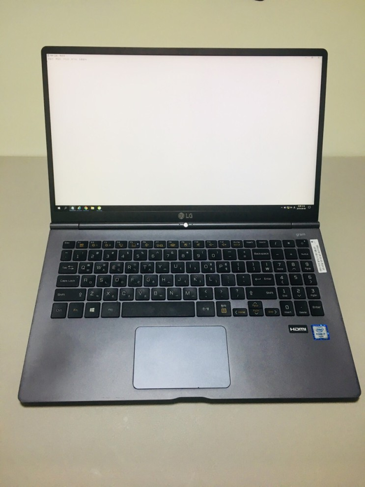 LG그램 15Z960-GB70K 노트북 사용 후기