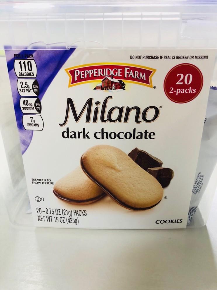 맛있는 수입과자 소개 ::: 페퍼리지팜 밀라노 쿠키