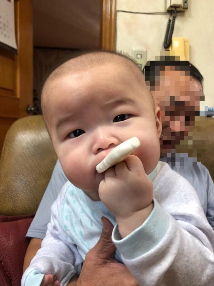 D+186 아기독감주사접종, 처음앉은날
