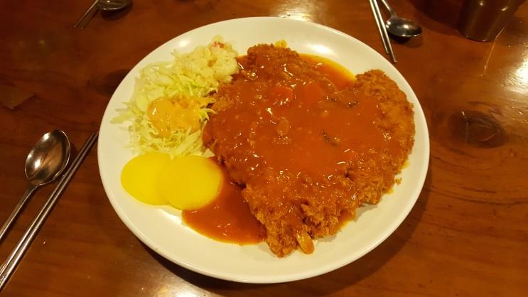 거여동 돈까스맛집, 동촌 보리밥 돈까스 엄청 큼!