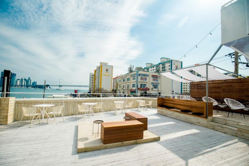 浪漫感性爆發的Rooftop咖啡廳推薦!來到韓國釜山就千萬不要錯過哦!