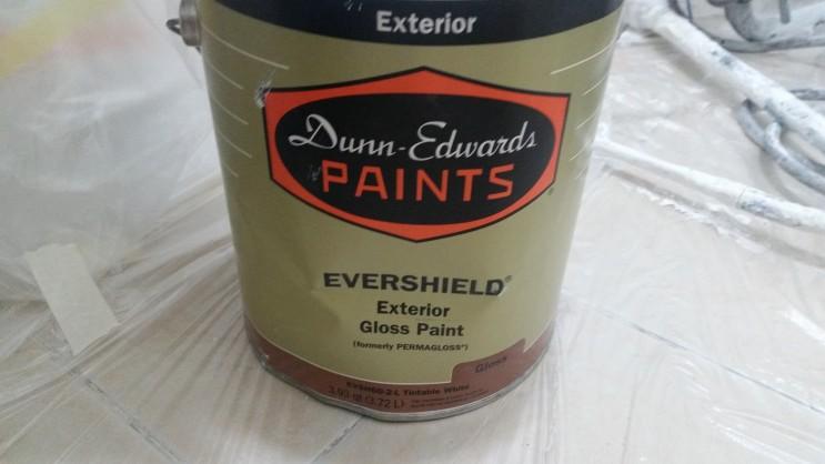 던에드워드 타일 페인트, 화장실 페인트, 저렴하고 친환경 적으로 화장실 리폼!