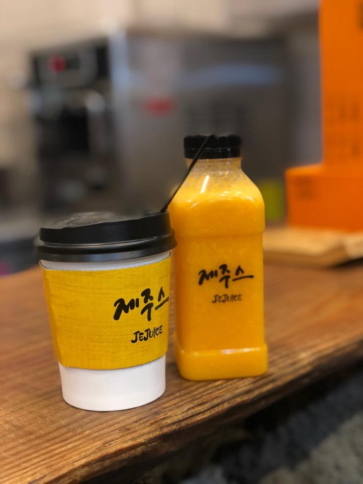 [제주] 제주동문시장 먹거리는 제주스~ 리얼 한라봉 주스 마시기