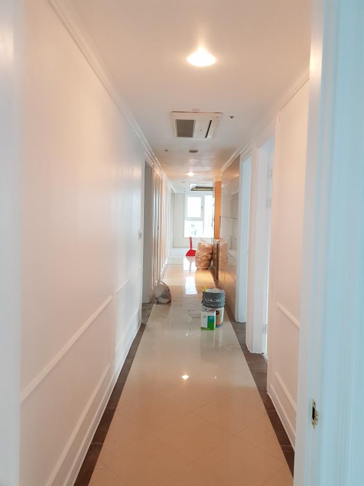 [브리스틀] 53평형 아파트 전체 친환경 페인트 시공