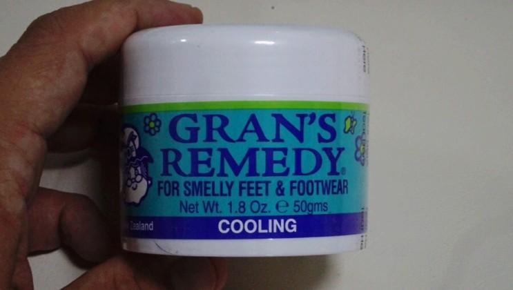 신발 발냄새 제거제 ::: 그랜즈레미디 (gran's remedy) 사용법 및 후기