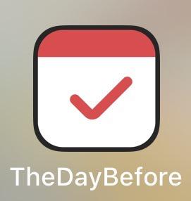 아이폰 어플 추천 ::: 기념일, 디데이의 모든것 더데이비포 (TheDayBefore) 사용법 및 사용후기