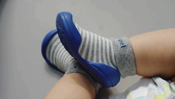 아기신발 킨더스펠 양말신발 ::: 아기 걸음마신발 사용후기