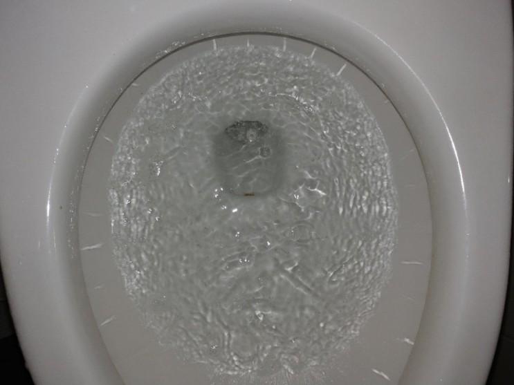 너무 쉽게 빠져버리는 휴지걸이, 변기에 들어가서 막힘이 발생했다면?