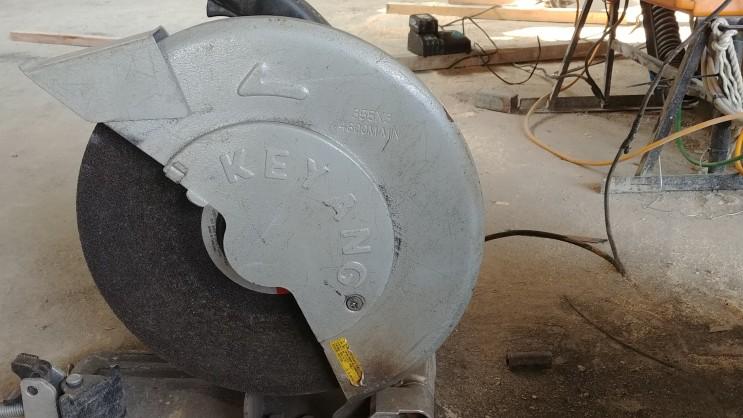 금속 타일 석재 제단 절단석 그라인더 날 종류 사용법