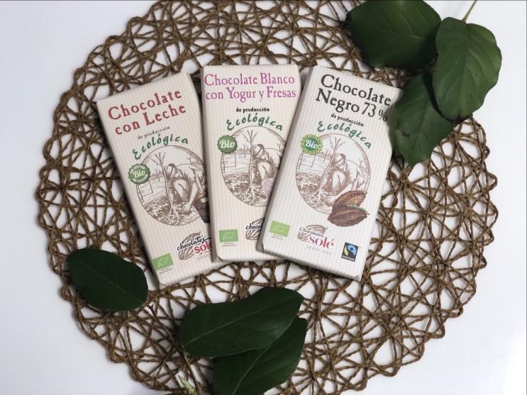 [초콜릿솔레] 오가닉닥터 유기농초콜릿 : 안전한성분으로 어린이 초콜릿으로도 좋아
