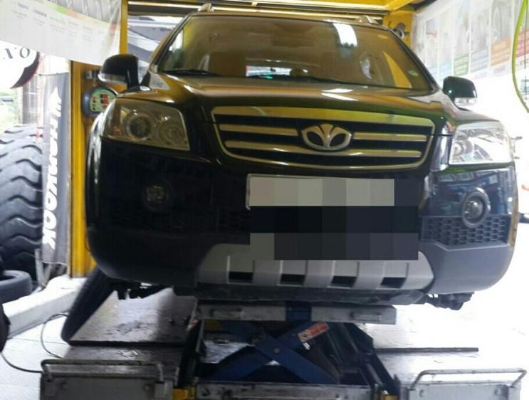 쉐보레 캡티바 타이어 가격 교체비용
