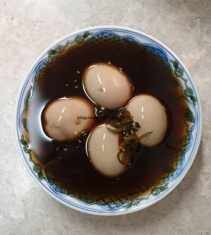 [코코 신상] 밥도둑 반숙 계란장. 후기! (진짜 밥도둑^^)