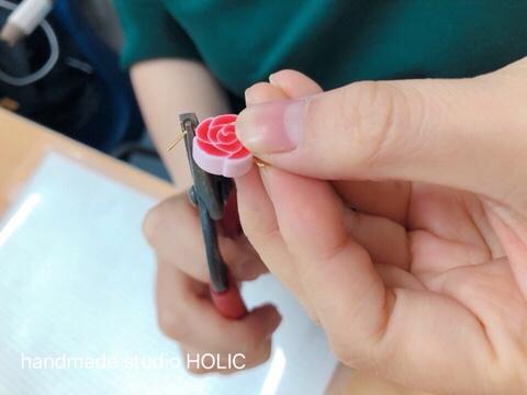 폴리머클레이 케인 기법으로 예쁜 악세사리를 만들어요.
