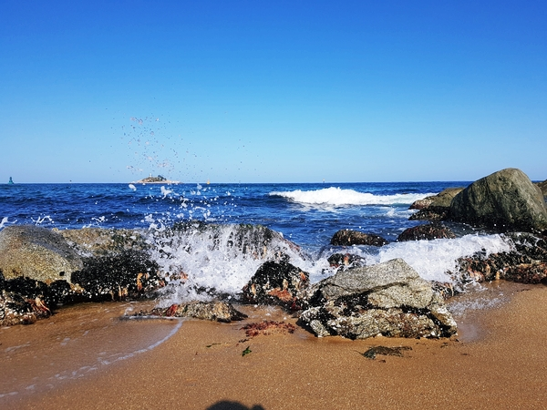 속초여행 외옹치해변,해수욕장