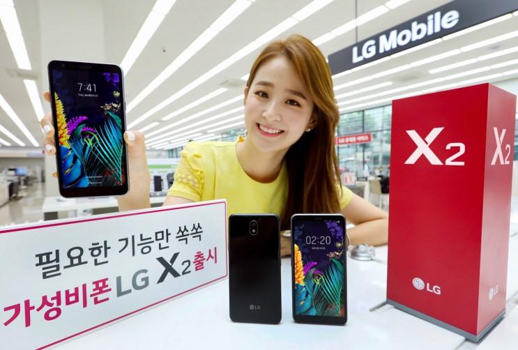 LG전자, 실속형 스마트폰 LG X2 국내 출시