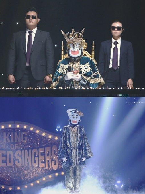 '복면가왕' 노래요정 지니,  첫 가왕 방어전… 경쟁가수 무대에 포옹까지