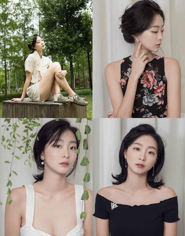 영화 '마녀' 김다미, 과거 피팅모델 시절 '화제'..'이렇게 예뻤어?