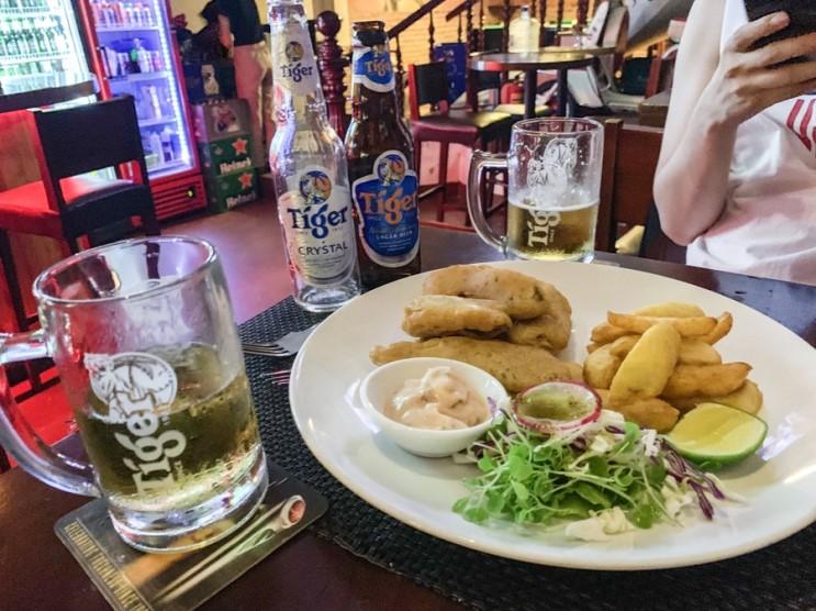 다낭 미케비치 펍 : 버티고 VERTIGO 에서 맥주 한잔!
