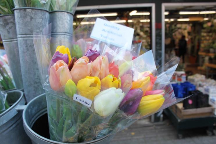 네덜란드 암스테르담 여행 : 네덜란드 기념품은 싱겔 꽃 시장에서 !