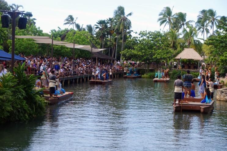 [하와이 여행/오아후 여행/하와이 일정 둘쨋날/폴리네시안 문화센터]PCC 앰버서더패키지 쇼까지 클리어!