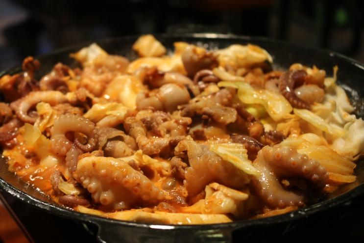광주 운암동 맛집 원티드쭈꾸미 Samsara