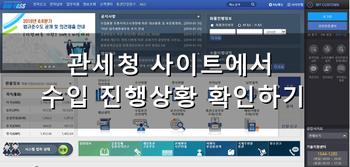 [무역] 수입품의 진행정보 확인방법 - 관세청 유니패스 알아보기