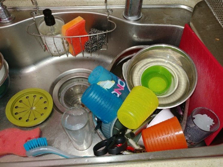 싱크대 하수구 막힘 때문에 설거지도 못하고 계셨던 분의 고민 해결!