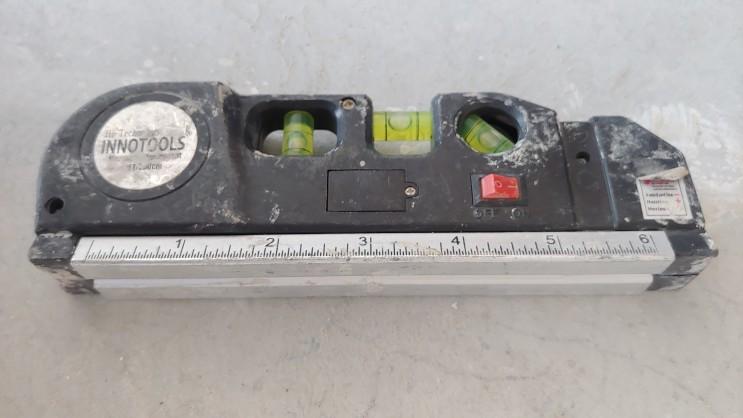 밑면 자석타잎 레이저 수평계 고정밀  레이저 레벨 수평계