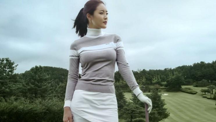 화제의 핑(PING) 골프웨어 CF광고 with 모델 권세린 멋짐!