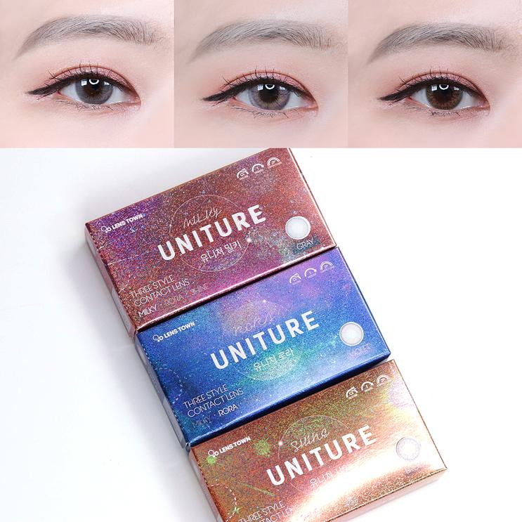 렌즈타운 우주소녀 렌즈 유니쳐 시리즈 3종 착용 후기