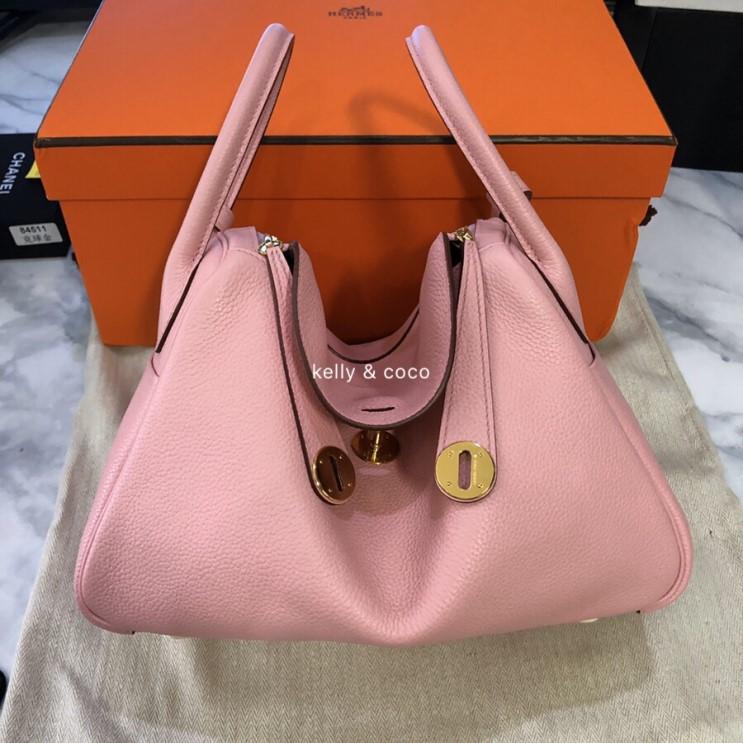 린디백+에르메스가방+30+핑크