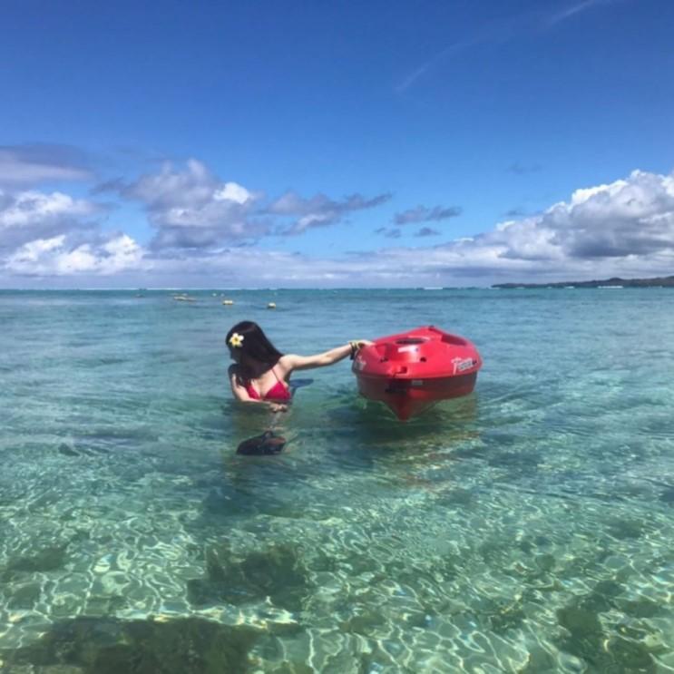 괌 날씨 10월22일까지 좋다