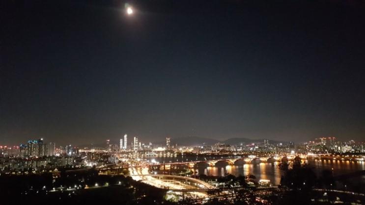 불광천 따라서 응암역에서 한강까지 걷기, 서울 야경명소 하늘공원 추천