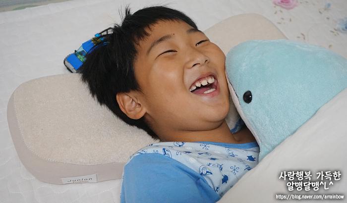 어린이베개 쥬니안주니어로 바꿨어요 : 너의 편안한 잠을 위해