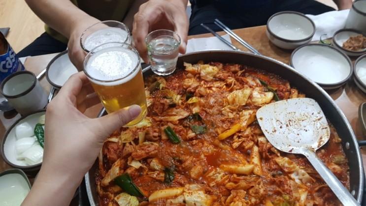 맛집투어 :: 제천 닭갈비 맛집 <춘천호반닭갈비막국수>