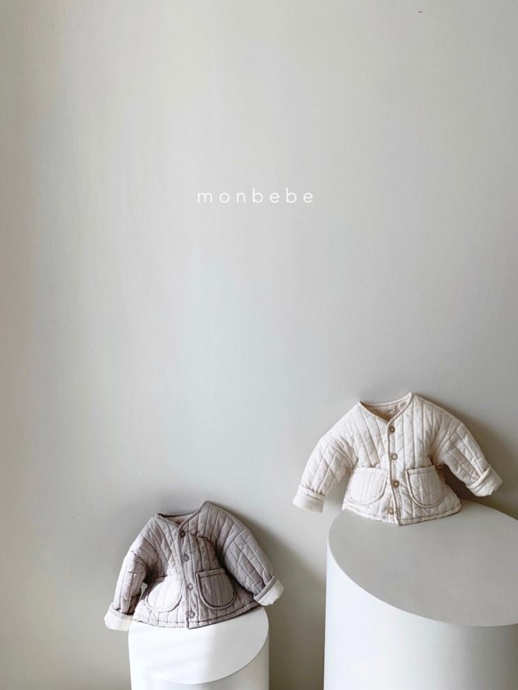 아기 겨울 자켓 추천 : 몽베베 슈슈본딩자켓 / 본딩이라 가볍고 따뜻해서 아가들 겨울 아우터로 추천합니다