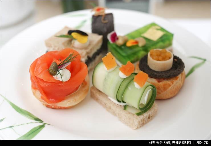 방콕 카페, 만다린 오리엔탈 호텔 오서스라운지 애프터눈티