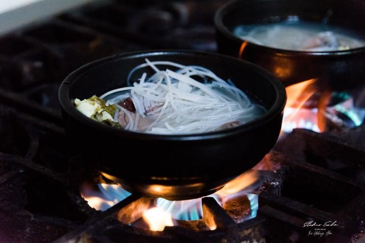 아침기온 뚝. 몸과 마음을 따듯하게 만드는 뜨끈한 국물요리, 성산일출봉 맛집 미향해장국에서 가을 제주도 여행을 위한 먹거리를 챙기세요.